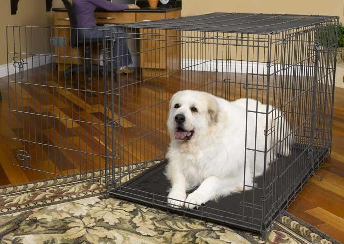 Клетка для перевозки собаки