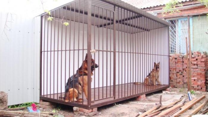 Клетка-вольер для собаки