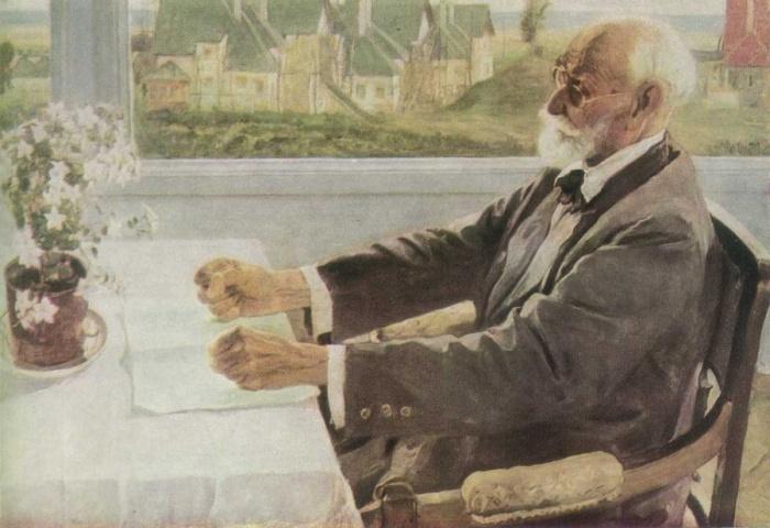 портрет Ивана Павлова