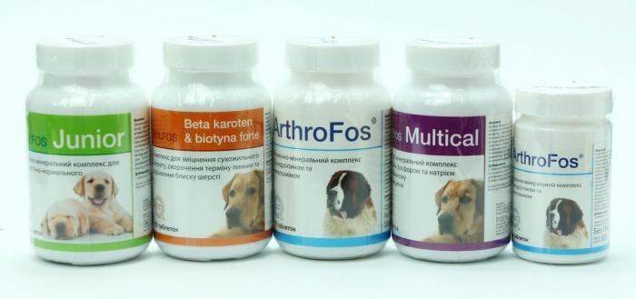 витаминно-минеральные добавки для собак