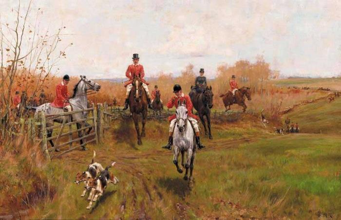 Английская охота