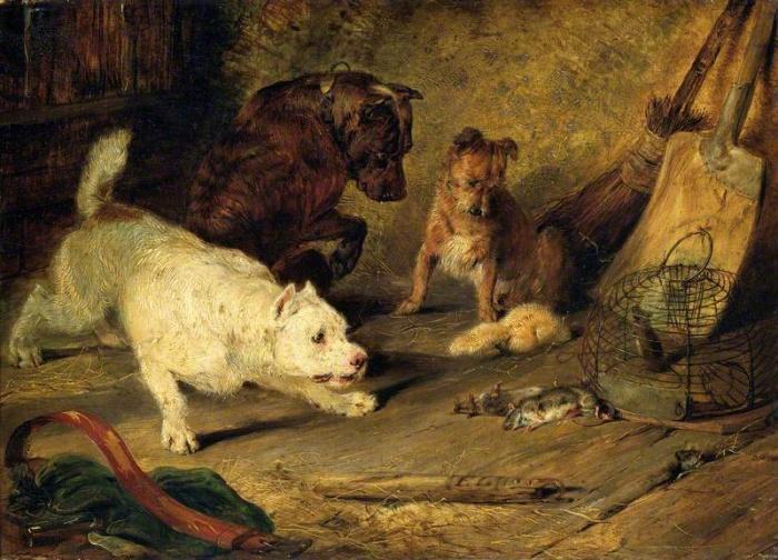 Крысоловы, 1821 год.