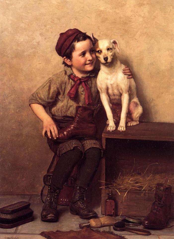 Нет собаки - заведи друга. Собак любят за то, что они не хотят стать хозяевами.
