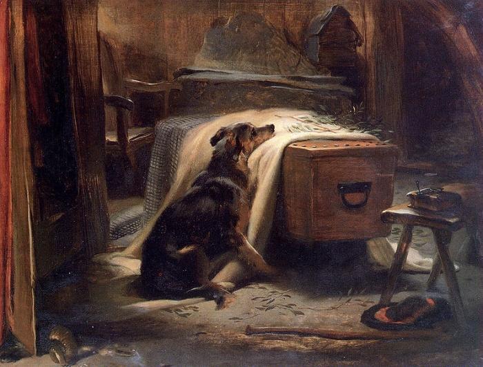 Скорбящий о старом пастухе,  1837 год.