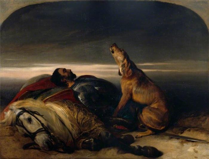 Верная собака, 1830 год.