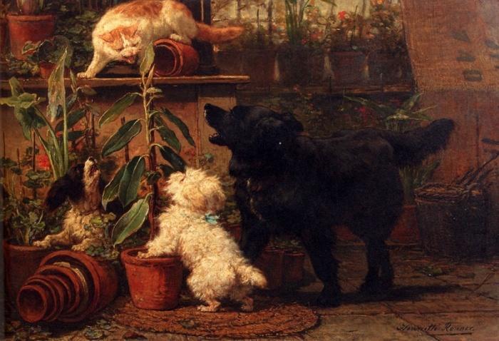 Прекрасное чувство уважения и любви к собакам
