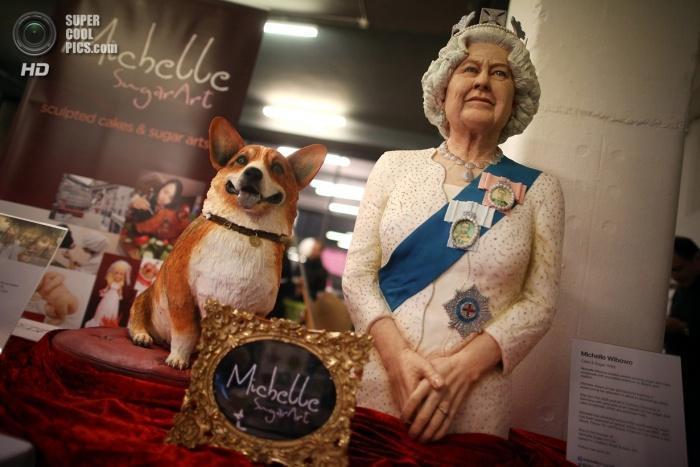 Королева Елизавета. Торт.