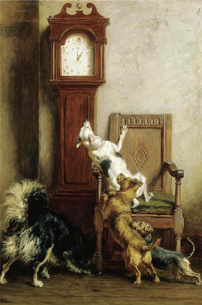 Бьют часы и собакам нравится
