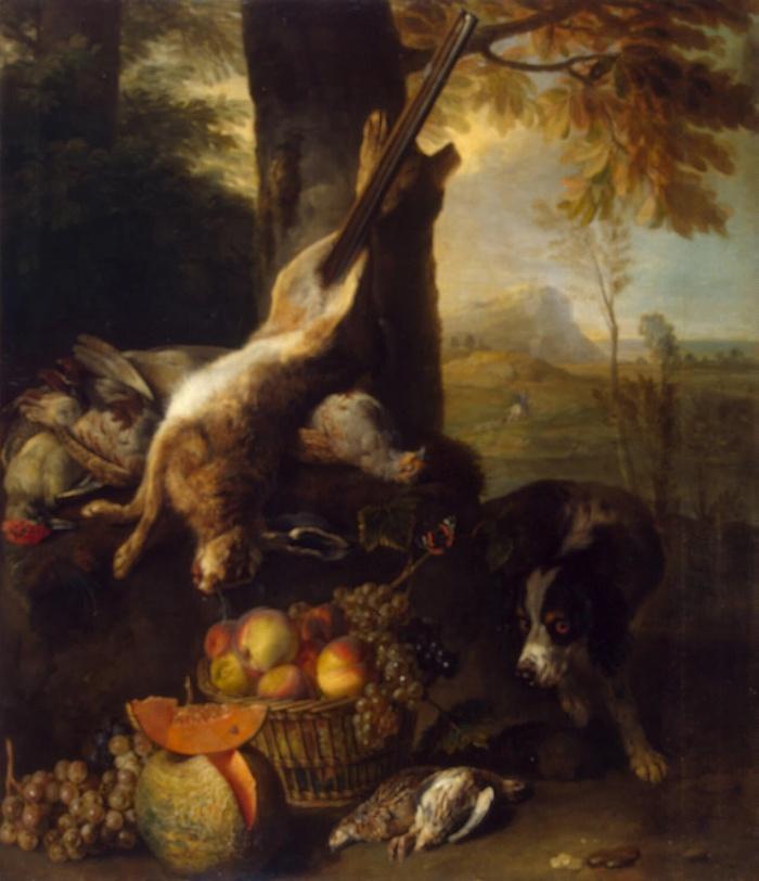 Натюрморт с битым зайцем