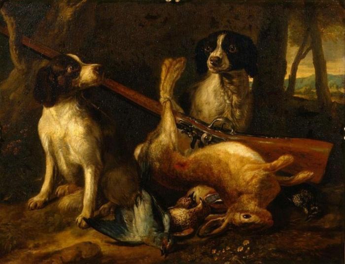 Собаки и битая дичь