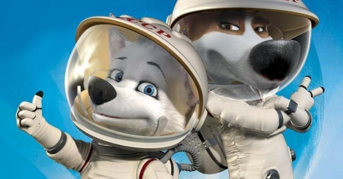 Космонавты - собаки