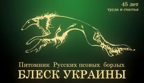 """Питомник Русских Псовых Борзыx """"Блеск Украины"""""""