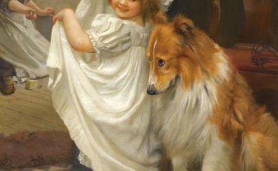 Собаки в живописи Брайтона Ривьеры