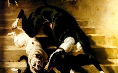 Собаки в произведениях Пьер-Альфред Дедрё