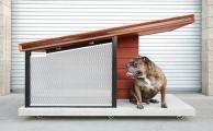 Как самому сделать будку для собаки